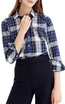 J.Crew Women's Perfect Plaid Shirt
