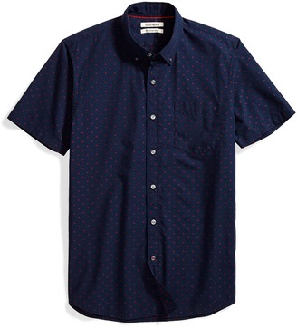 Goodthreads Men's Slim-Fit Short-Sleeve Dobby Shirt