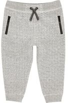 River Island Mini boys grey space jogger