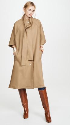 Jason Wu Cotton Poncho Rain Coat