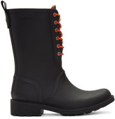 Rag & Bone Black Ansel Rain Boots