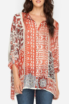 Johnny Was Prima Printed Blouse