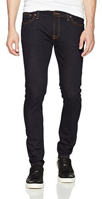 Nudie Jeans Men's Skinny Lin Rinse Rust 27/32