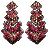 Suzanna Dai 'Zocalo' Large Drop Earrings