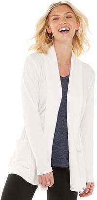 Sonoma Goods For Life Women's Long Sleeve Cinch-Waist Cardigan