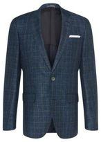 HUGO BOSS Italian Linen Wool Sport Coat, Slim Fit Hutsons 36RBlue