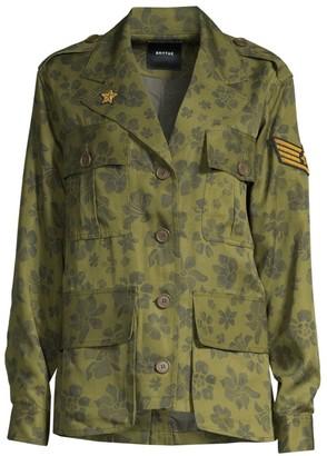 Smythe Floral Printed Army Jacket