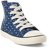 Ralph Lauren Sag Harbour Canvas Sneaker
