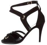 Hermes Diva Suede Sandals