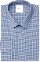 Paul Smith Slim-Fit Gingham Cotton-Poplin Shirt