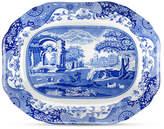 Spode Dinnerware, Blue Italian Medium Oval Platter