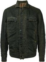 11 By Boris Bidjan Saberi metric laser jacket - men - Cotton/Polyurethane - L
