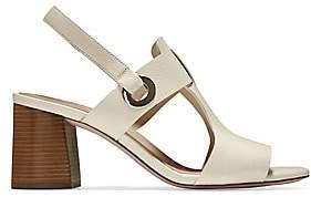 Cole Haan Women's Avana Leather Block-Heel Sandals