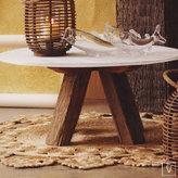Sandblasted Marble Tables