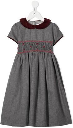 Mariella Ferrari Shirred Party Dress