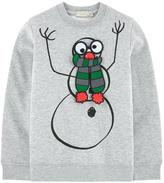 Stella McCartney Graphic organic cotton sweatshirt with velcro patches - Biz