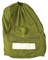 Prince Lionheart Carseat gate checkBAG Green