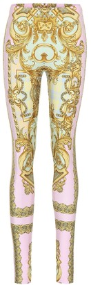Versace Exclusive to Mytheresa a Printed leggings