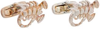Valentino Silver Scorpio Cufflinks