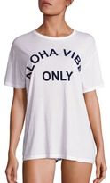 Mikoh Swimwear Aloha Graphic-Front T-Shirt