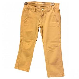 Drykorn Khaki Cotton Jeans for Women