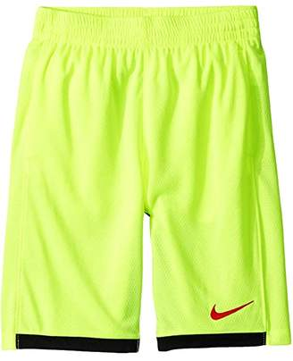 Nike Dry Training Short (Big Kids) (Volt/Black/University Red) Boy's Shorts