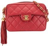 Chanel Pre Owned tassel detail crossbody bag