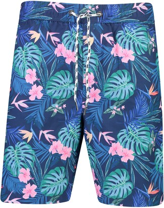 Snapper Rock Tropical Rainforest Volley Swim Trunks