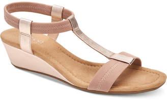 Alfani Women Step 'N Flex Voyage Wedge Sandals, Women Shoes