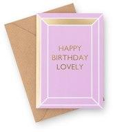 Oliver Bonas Happy Birthday Lovely Card