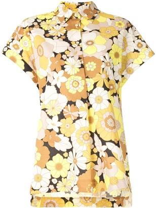 Rebecca Vallance Retro Floral Print Shirt