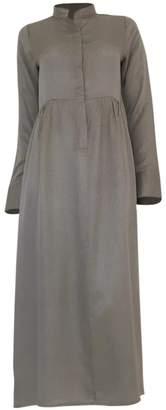 Hanout Boutique Delphine Silk Dress Grey