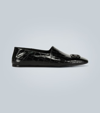Balenciaga Cosy BB detail leather loafers