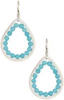 Chan Luu Turquoise Teardrop Earrings