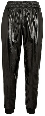 Alice + Olivia Patent Vegan Leather Tokyo Trousers