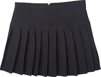 Unique Girls Womens Britney Pleated School Work Skirt Ladies Size 16