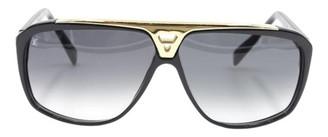 Louis Vuitton Black Plastic Sunglasses