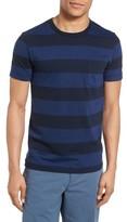 French Connection Men's Varsity View Stripe Slim T-Shirt