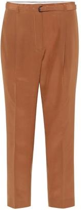 Bottega Veneta Belted silk pants