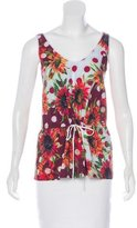 Clover Canyon Printed Sleeveless Top w/ Tags