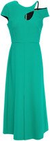 Thumbnail for your product : Roland Mouret Theand Cutout Crepe Midi Dress