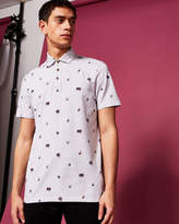 Ted Baker Printed polo shirt