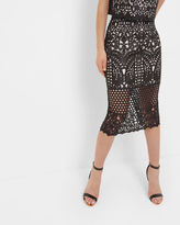 NEOMA Geo Lace pencil skirt