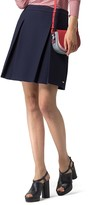 Tommy Hilfiger Pique Pleated Skirt