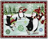 Pure Country Christmas Penguin Blanket Tapestry Throw