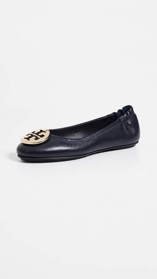 Tory Burch Minnie Travel Ballet Flats