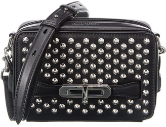 Alexander McQueen The Myth Studded Leather Crossbody