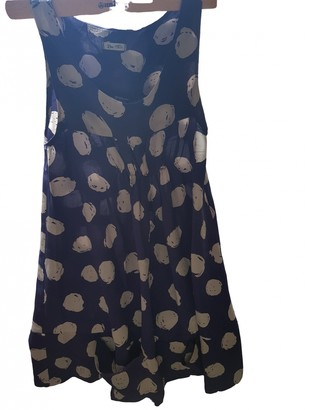 Bel Air Blue Silk Dress for Women