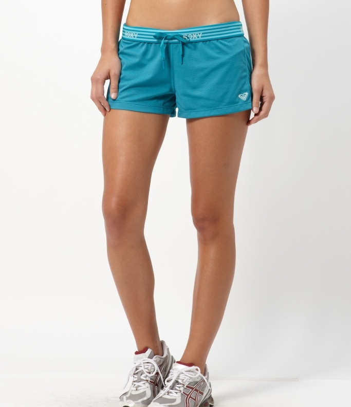 Roxy Pace Yourself Again Mesh Athletic Shorts