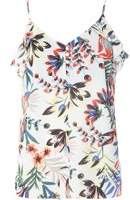 Dorothy Perkins Womens **Tall Floral Ruffle Camisole Top- Fl Multi